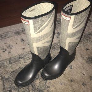 Hunter original Brit Rain Boots Size 10